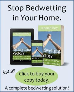 Buy My Bedwetting Victory to learn how to end bedwetting in older children.