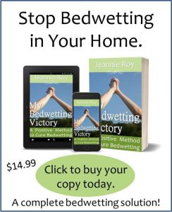 Buy My Bedwetting Victory to end bedwetting.